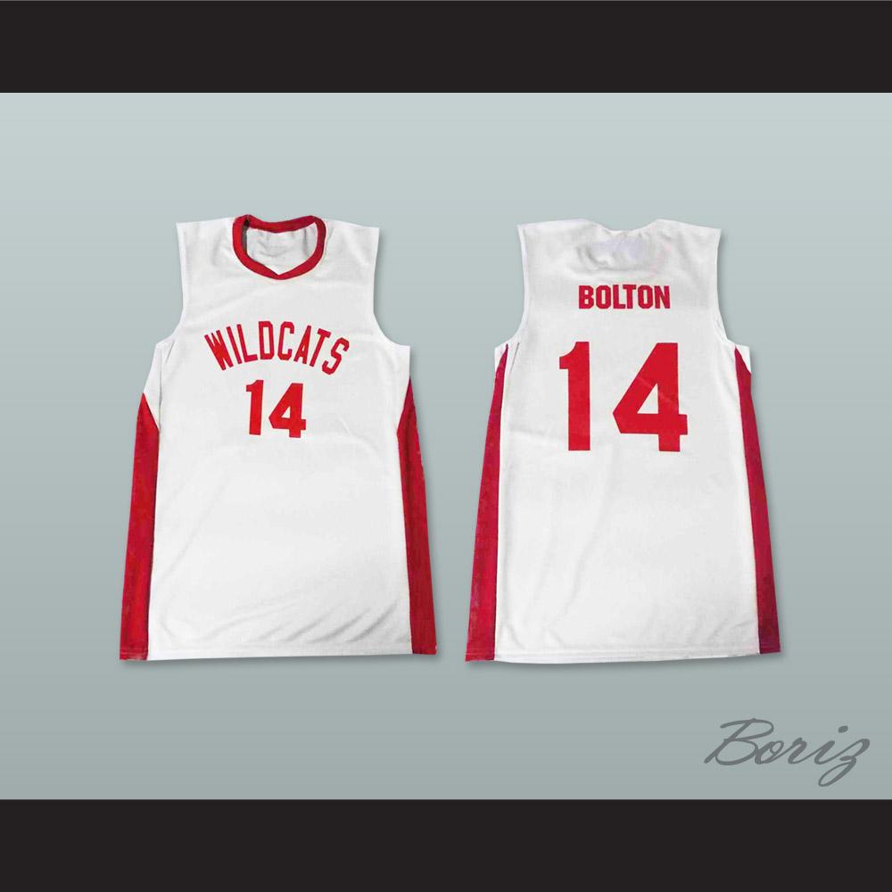 Zac efron troy bolton east high school wildcats white basketball jpg  1000x1000 Troy bolton wildcats ed79e0acd
