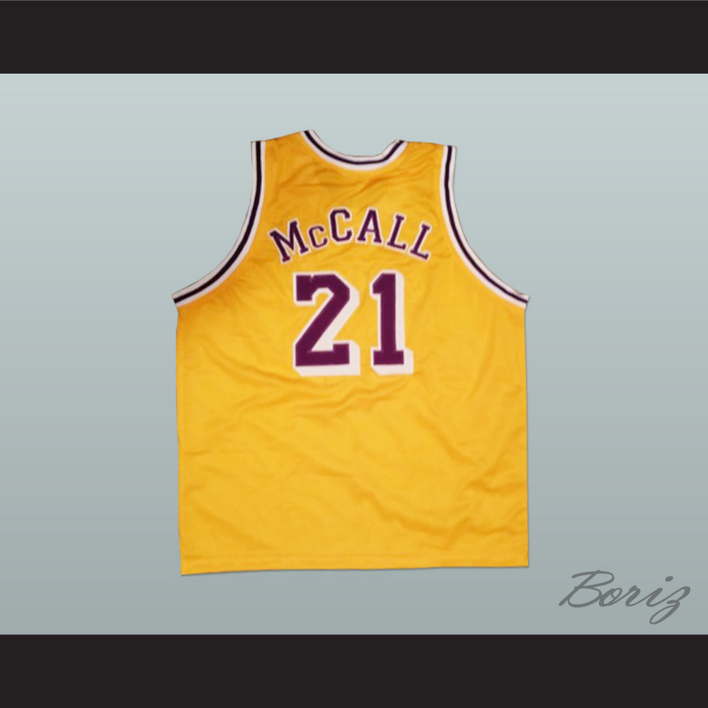 ba04013dd6a 22. Quincy McCall 21 Pro Career Basketball Jersey from Love and Basketball  Movie ...
