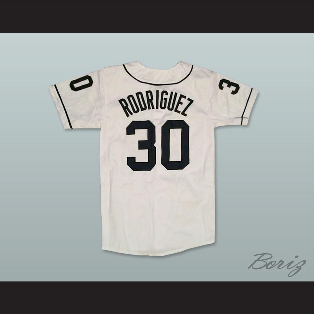 Mike Vitar Benny  The Jet  Rodriguez 30 Baseball Jersey The Sandlot — BORIZ 195433d26