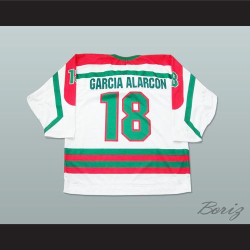 acde6b0da Mexico National Team White Hockey Jersey — BORIZ