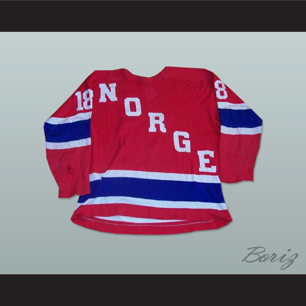 1139d3c7c Norway National Team Eskild Dahlstrom Hockey Jersey. 55.99. Norge PIC 1.jpg