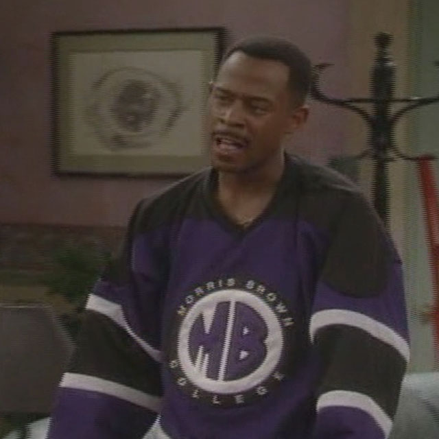 7380d9032fbe My prediction is that Fabolous will wear the Morris Brown College Hockey  Jersey from Martin TV Show and post it on Instagram. What is your  prediction