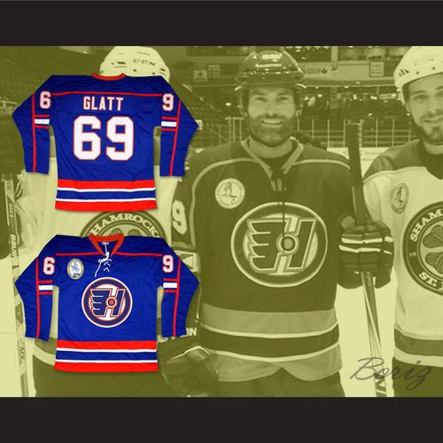 Doug Glatt 69 Halifax Highlanders Hockey Jersey Goon 2 — BORIZ 2f8bb515860