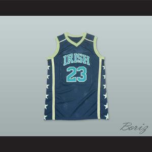 94bdf0329 1978 High Flyers 8 Red Basketball Jersey. 55.99. Lebron James Irish 23  Black 1.jpg
