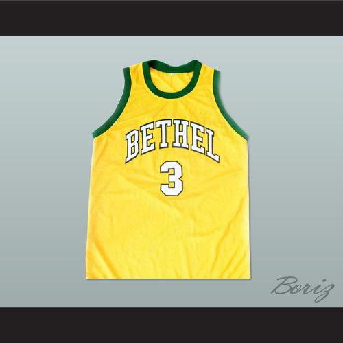 55b20f3a77d ... BRUINS YELLOW BASKETBALL JERSEY. ALLEN IVERSON 3 BETHEL HIGH SCHOOL PIC  2.jpg