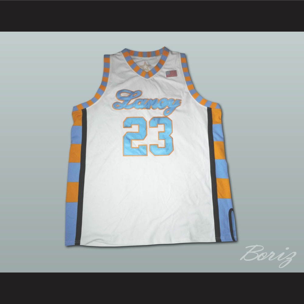 892b3feb945 MICHAEL JORDAN LANEY HIGH SCHOOL BASKETBALL JERSEY — BORIZ