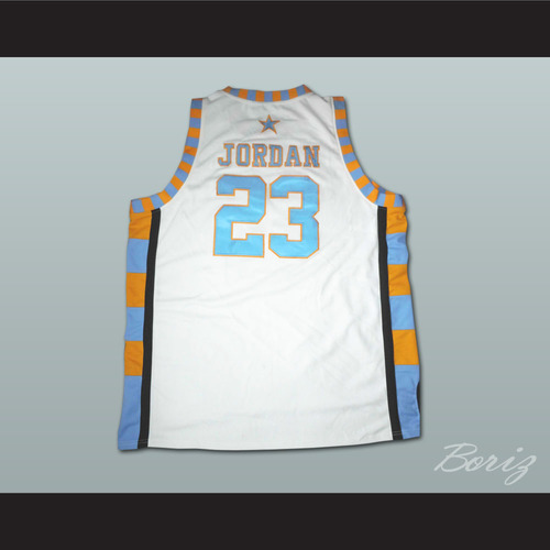MICHAEL JORDAN LANEY HIGH SCHOOL BASKETBALL JERSEY — BORIZ 82ffe96ffca5