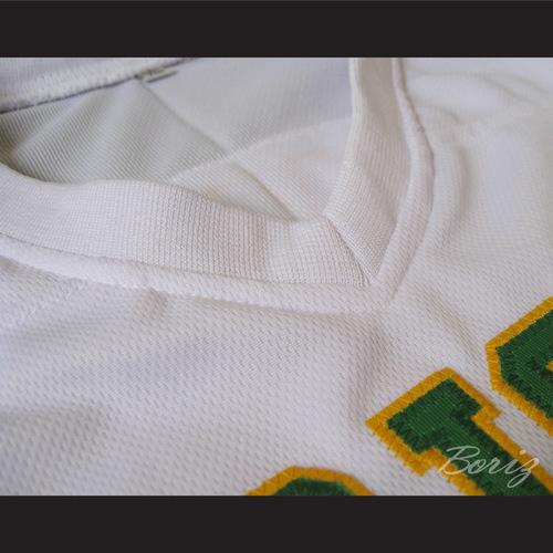 30e5e4978f4f Lebron James 9 Fighting Irish High School Football Jersey White — BORIZ