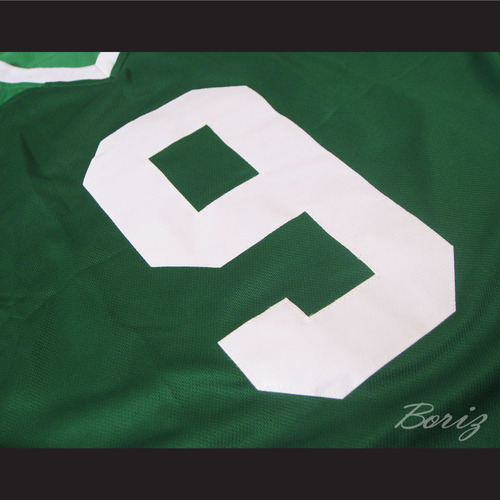 694fa6f0f558 Lebron James 9 Fighting Irish High School Football Jersey Green — BORIZ
