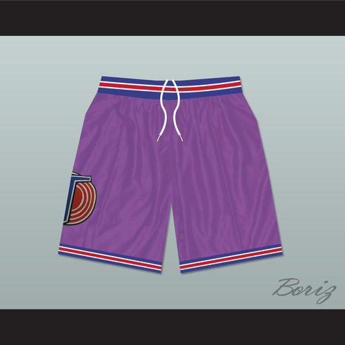 b3bb0536925b Michael Jordan Space Jam Tune Squad Basketball Shorts Purple — BORIZ