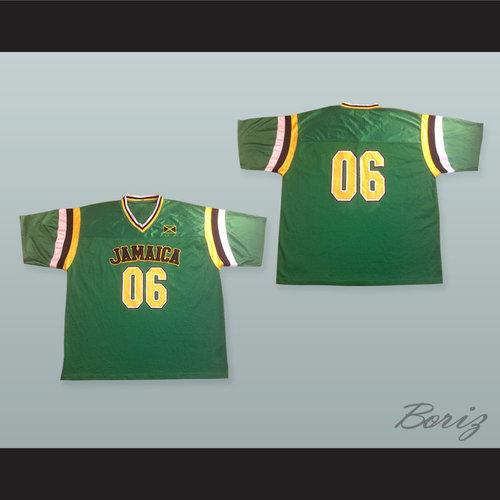 Jamaica 06 Green Football Jersey — BORIZ 2dddd7782