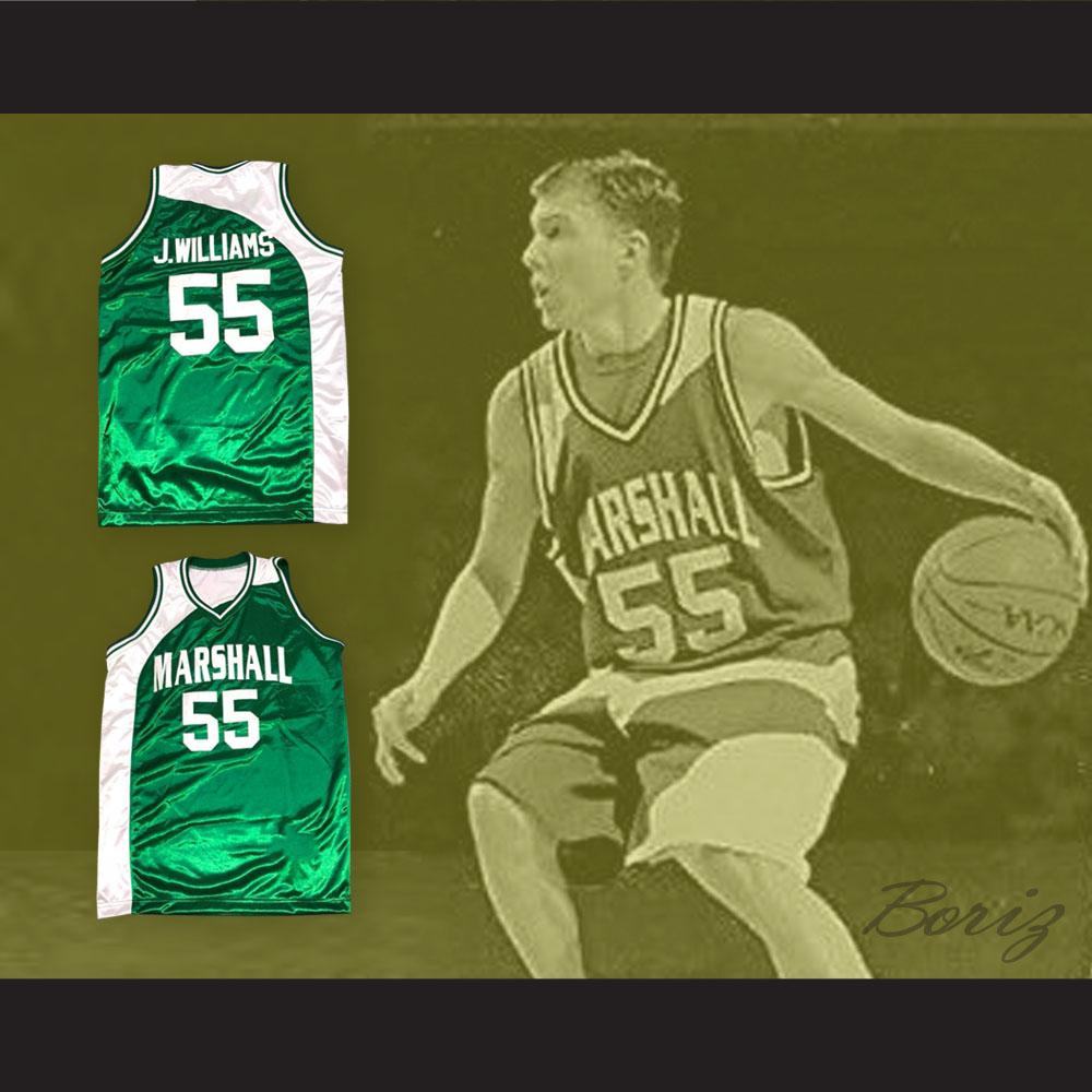 3a8bebb05d0 Jason Williams 55 Marshall Basketball Jersey — BORIZ