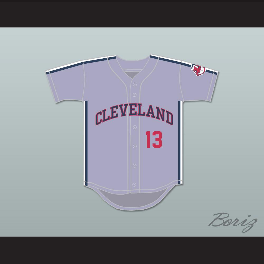 super popular 2461e ed07b Pedro Cerrano 13 Gray Baseball Jersey Major League II — BORIZ