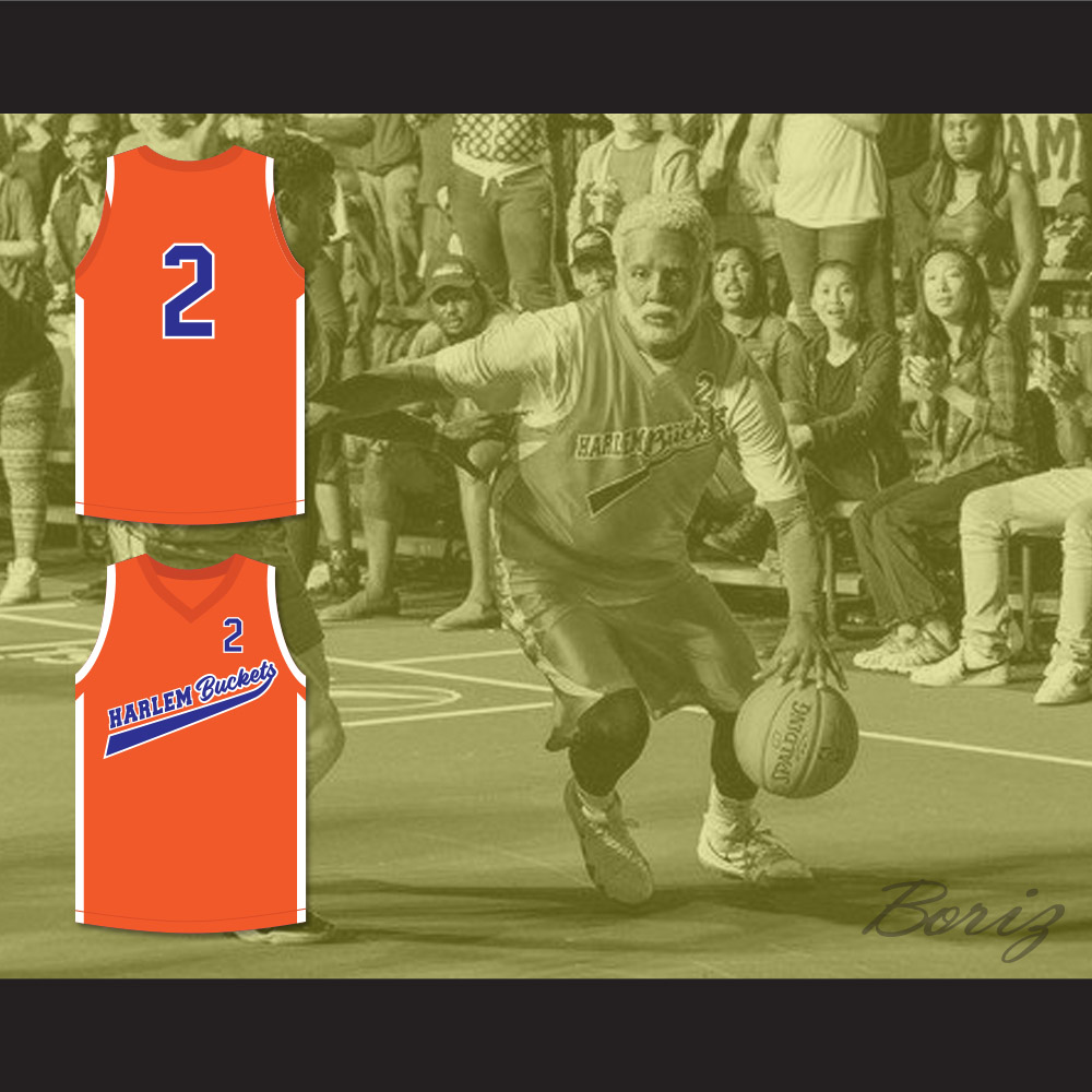 7bf8e69d1 Kyrie Irving Uncle Drew 2 Harlem Buckets Basketball Jersey Uncle Drew —  BORIZ