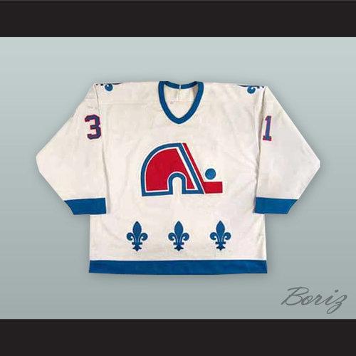 3dc94be3857 ... Nordiques White Hockey Jersey. Valeri Kamensky 31 Quebec Nordiques 1.jpg