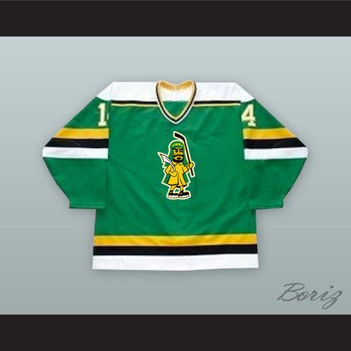 88ab75267368d4 ... Green Hockey Jersey. Kevin Kellett 14 Prince Albert Raiders 1.jpg