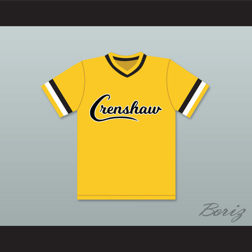 f471141b04b7 ... High School Cougars Yellow Baseball Jersey. Darryl Strawberry 18  Crenshaw Y 1.jpg