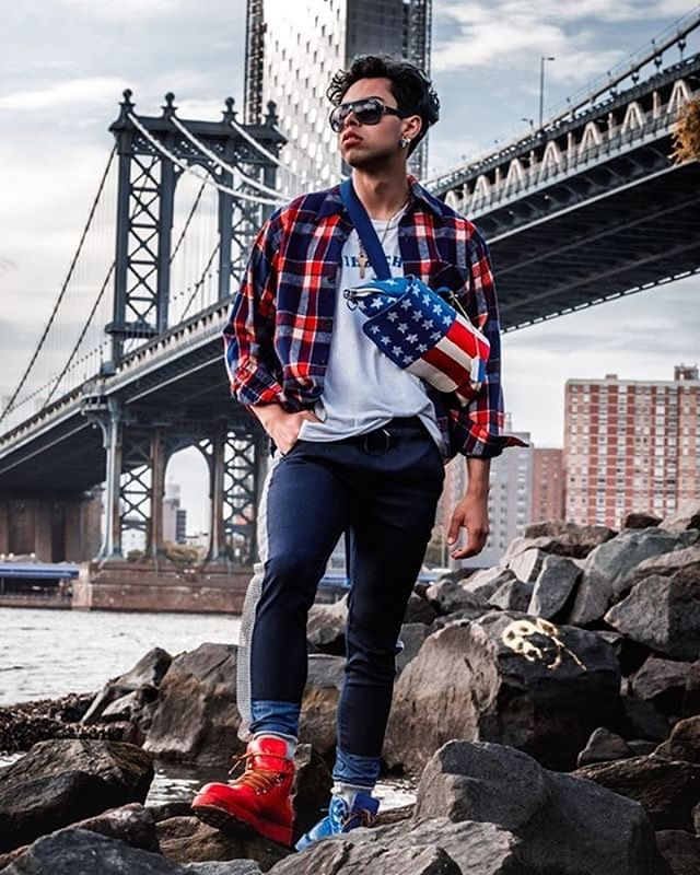 Giving 2007 Americano realness 🇺🇸🌉 fit by @liusalnycofficial  styled by @lnhaus 📸 @Polarizepro