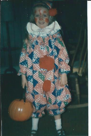Editor's note: This was NOT the creepy clown standing by my house.