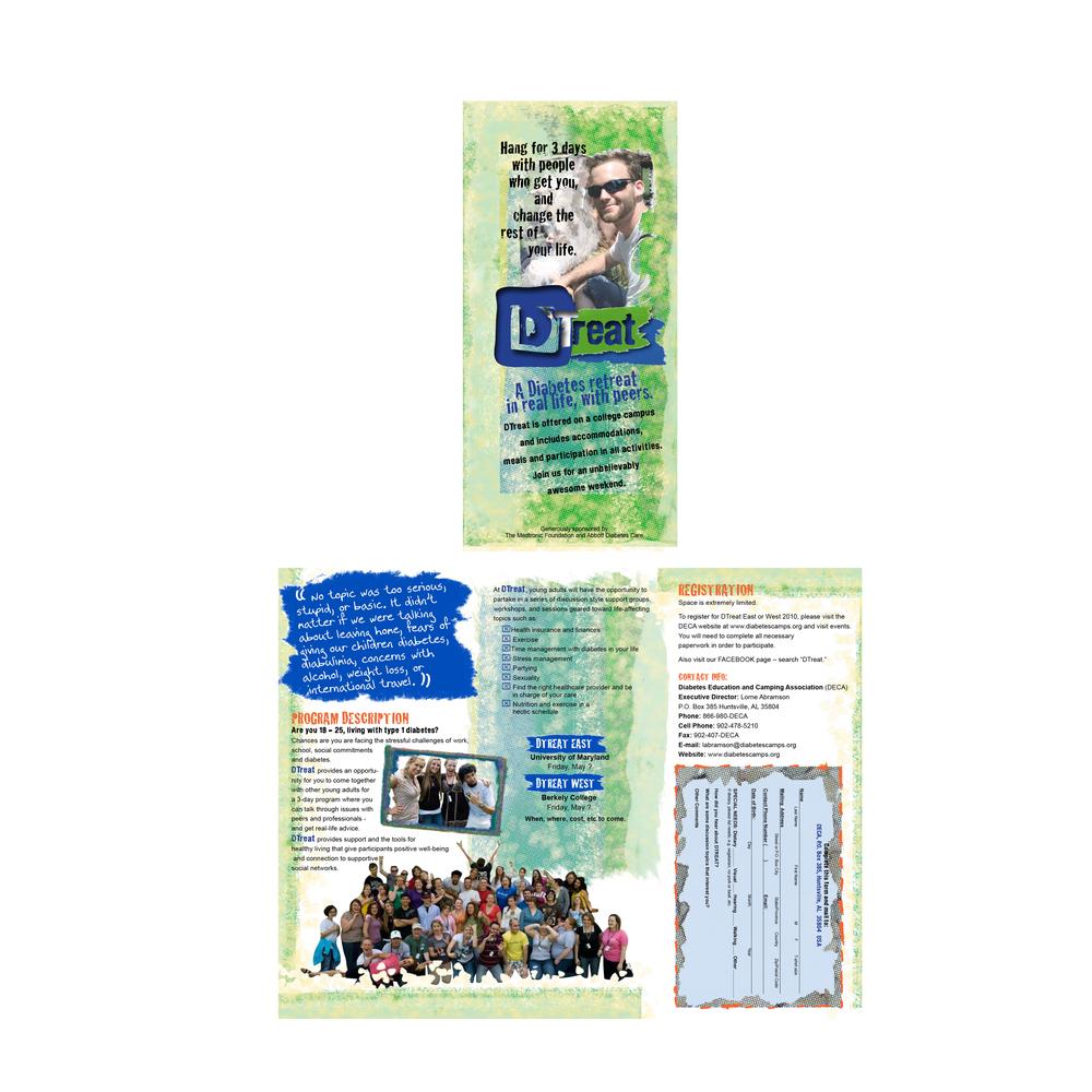 diabetes camp brochure