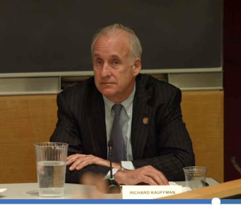 Gov. Cuomo energy czar Richard Kauffman responding to Environmental Progress' Cesar Penafiel