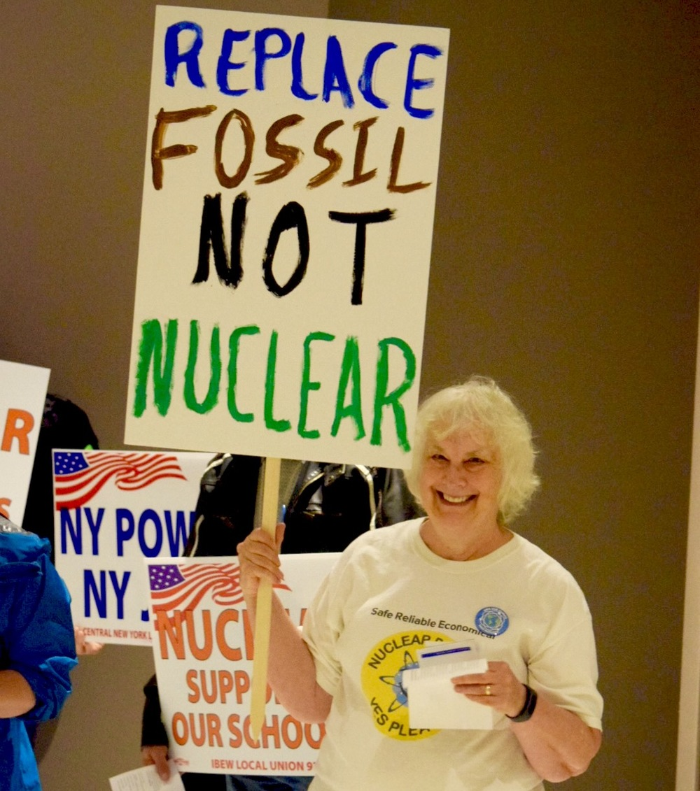 Pro-nuclear environmentalist Meredith Angwin, Save Vermont Yankee.