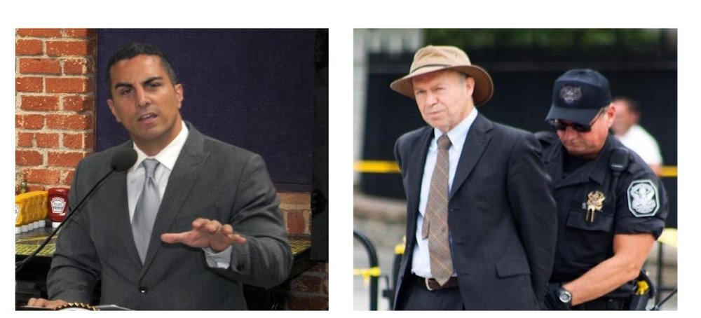 Assembly Member Mike Gatto and Climate scientist James Hansen