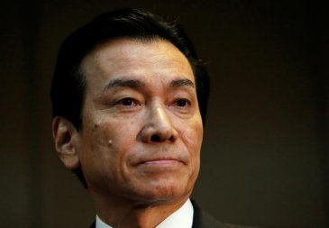 Toshiba's chairman Shigenori Shiga has stepped down to take responsibility for failure of Westinghouse Nuclear.