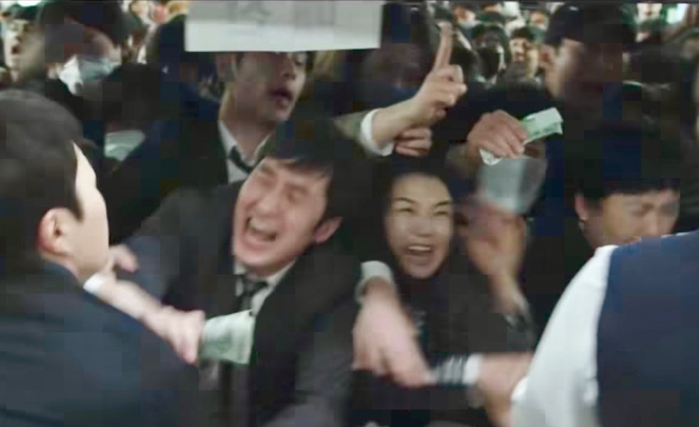"""할리우드 스타일의 원전 재난영화 """"판도라""""의 한 장면"""