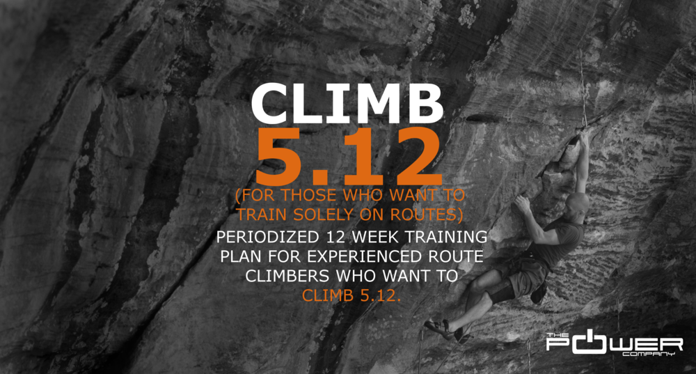 $20  Click image to learn more about CLIMB 5.12 (routes only)
