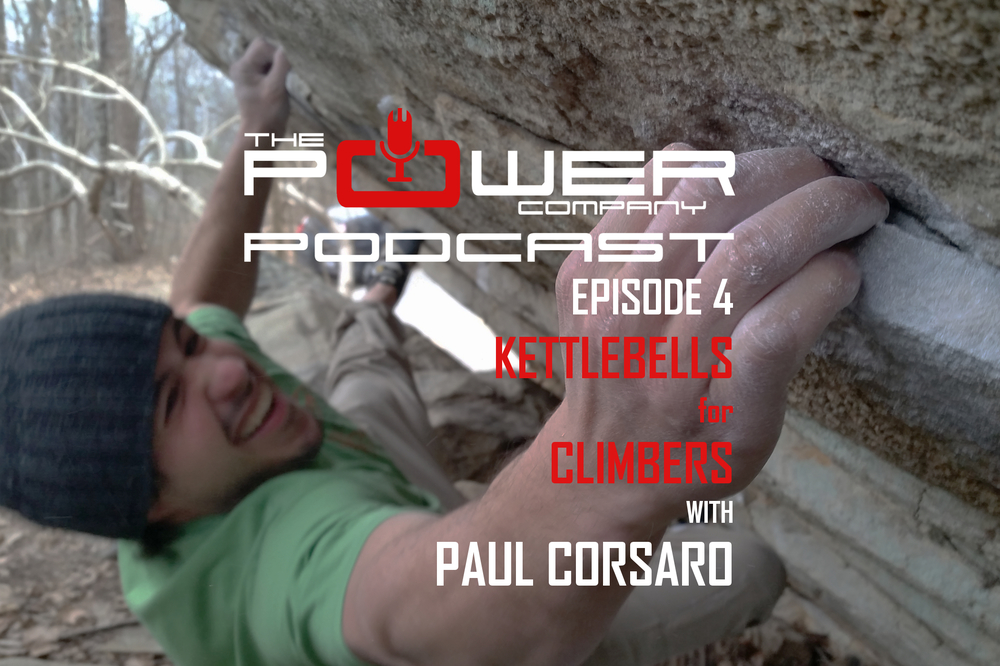 kettlebells for climbers with paul corsaro