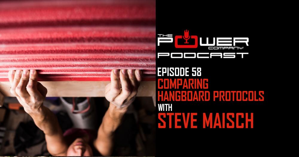 steve maisch hangboard