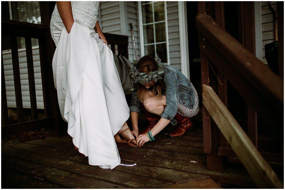 Newcastle Island BC Wedding