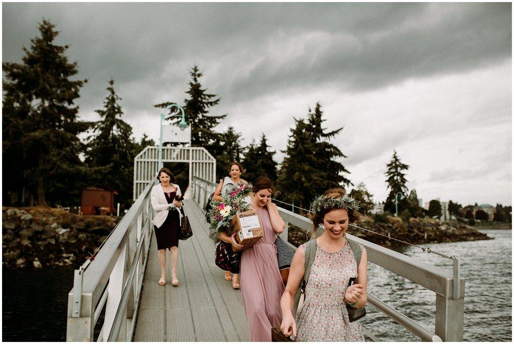 Newcastle Island BC Wedding 1