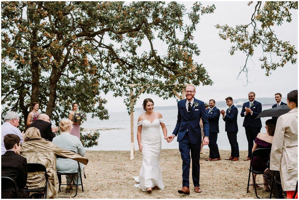 Newcastle Island BC Wedding 4