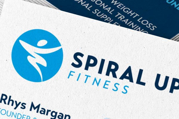 SPIRAL UP FITNESS → Logo Design / Branding / Business Card / Website Design / Email Newsletter Design