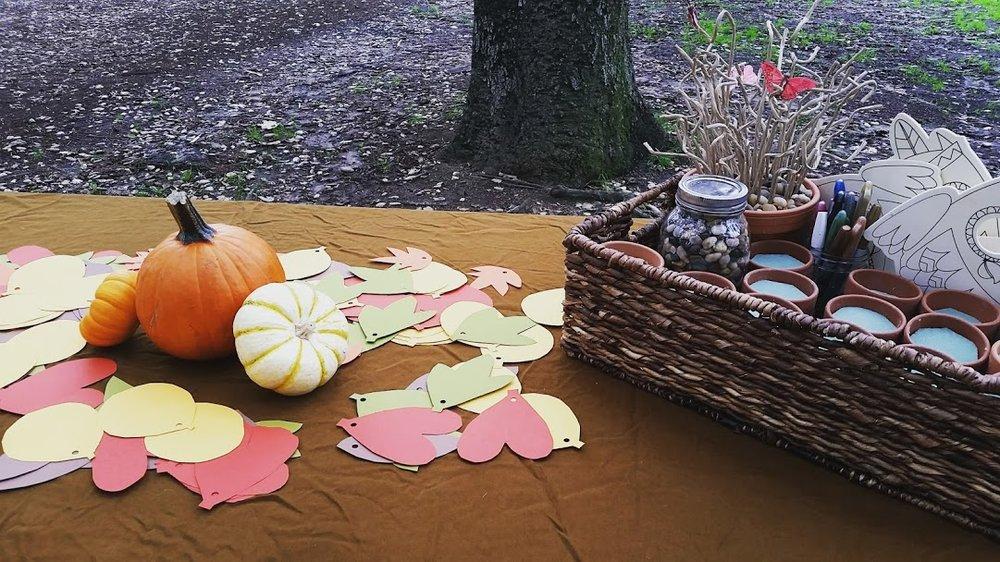 Gratitude picnic