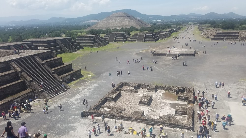 Teotihuacan, Mexico pyramids