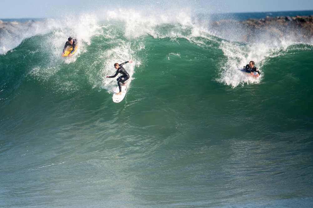 Surfing in the ocean is more my style of gym.