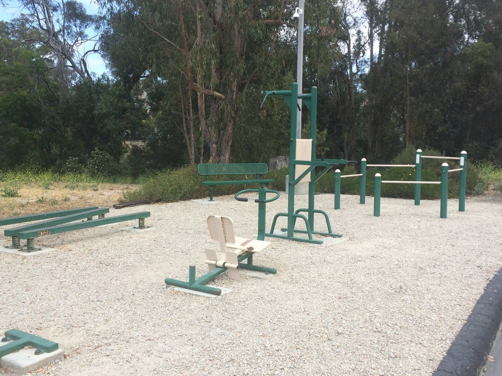 Maybe I could get down with an outdoor gym.