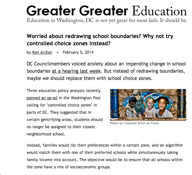 Greater Greater Education
