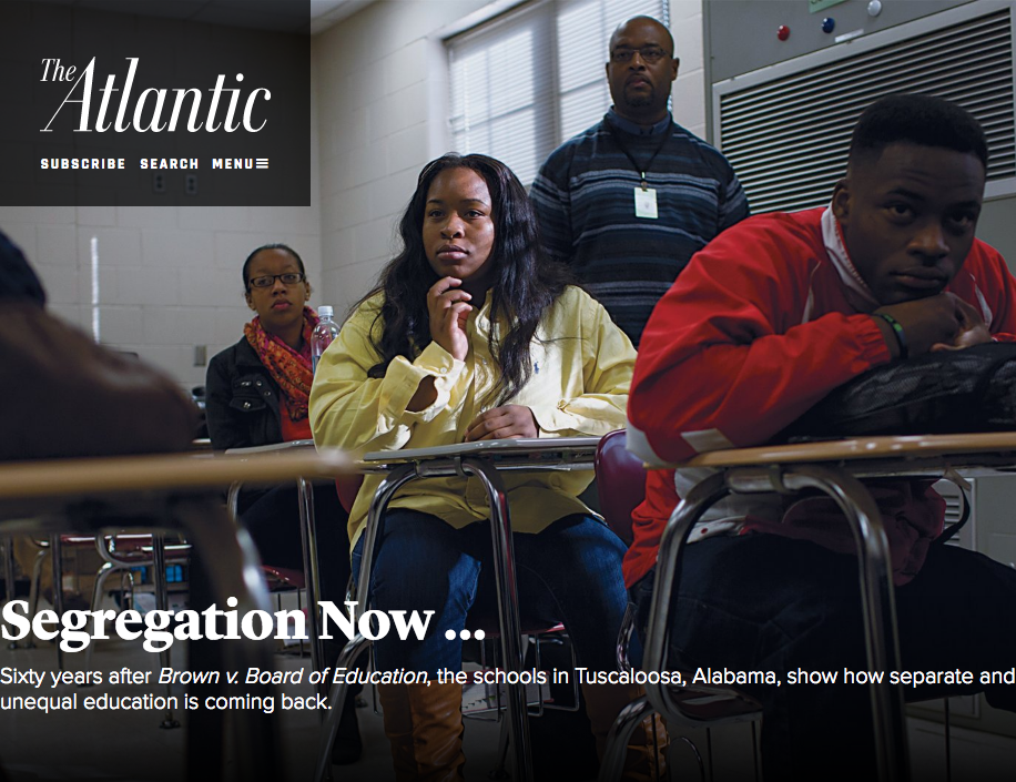 "The Atlantic - ""Segregation Now"""