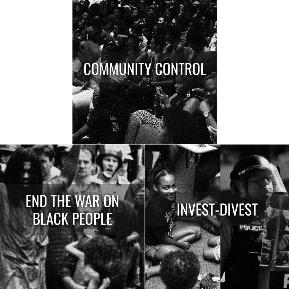Black Lives Matter Platform: https://policy.m4bl.org/platform/