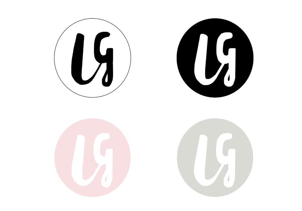 Louise Gabrielle Interiors Logo design and business card design for interior design company