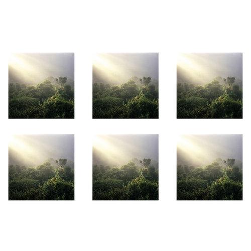 six 5 x 5 square prints film objektiv