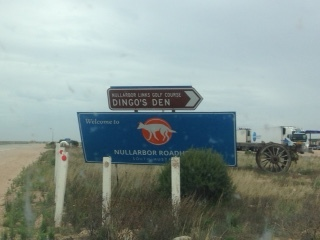 Nullarbour roadhouse, The Border Village's brother 200km away