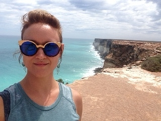 The Great Australian Bight, like standing on the edge of the world