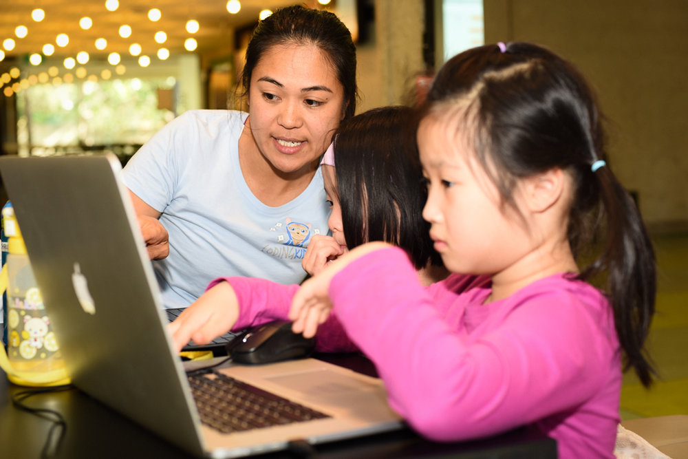 Let's get girls coding. It's fun, you can build projects and inventions, solve problems and help the world.