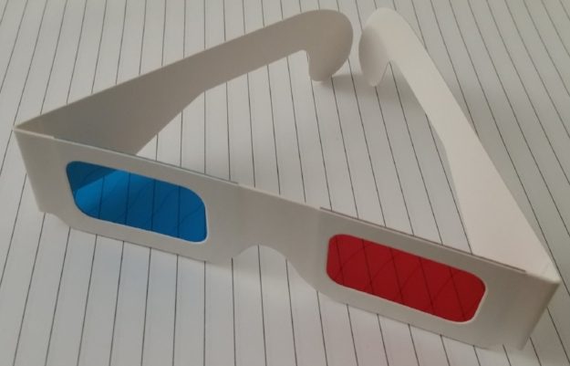 You can make your own 3D images at home with Anaglyph 3D glasses.