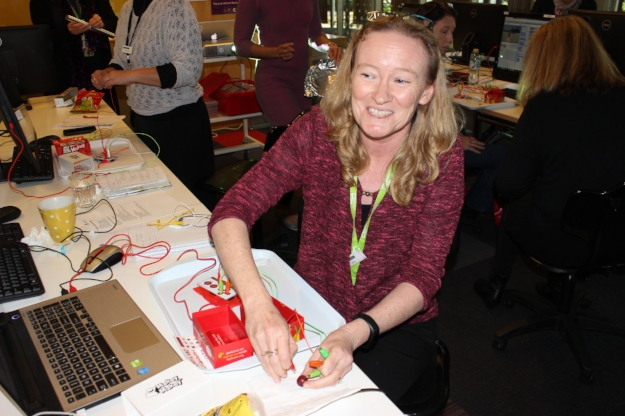 IT professional development for Queensland librarians - integrating Makey Makey with Scratch